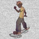 skater boy tshirt manga style by ian rogers by dragon2020