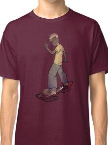 skater boy tshirt manga style by ian rogers Classic T-Shirt