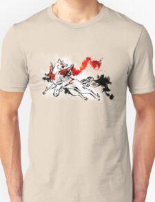 Okami: Amaterasu Art Print T-Shirt