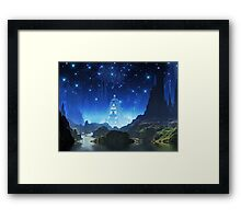 Crystalline City of Alumina Framed Print