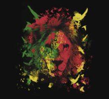 Rasta/Reggae Lion by Lionart