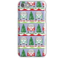 Split screen Xmas iPhone Case/Skin