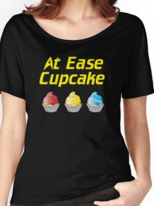 At Ease Cupcake Women's Relaxed Fit T-Shirt