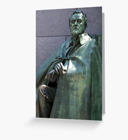 Franklin D. Roosevelt Greeting Card