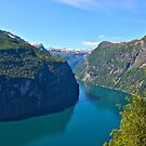 Views: 5179  ♥ ♥ ♥ series . Earth Wonders -  the Gerianger Fjord . Møre og Romsdal . Norway . by Brown Sugar. 17 Views: 3411 .This image Has Been S O L D . Thanks friends ! Thx !. by © Andrzej Goszcz,M.D. Ph.D