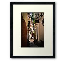 Streets of Seville  Framed Print