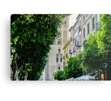 Streets of Seville  Metal Print