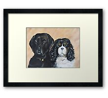 Jake And Louis Framed Print