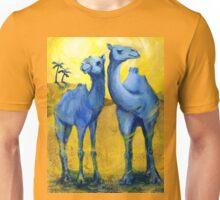 TBC1 (Two Blue Camels) Unisex T-Shirt