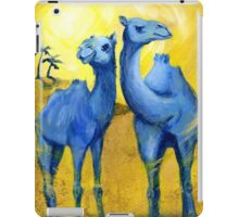 TBC1 (Two Blue Camels) iPad Case/Skin