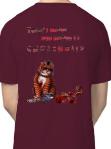 cat mobster 3 Classic T-Shirt