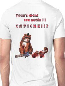 cat mobster 3 Unisex T-Shirt