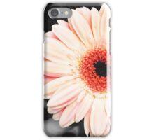 Light pink flower (selective color) iPhone Case/Skin