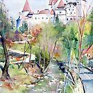 Dracula's Castle (Bran Castle, Romania) by Genevieve  Cseh