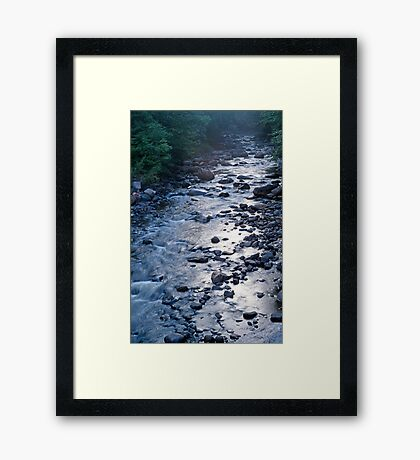 Northern Canadian Creek Framed Print