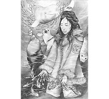 Sedna - the Inuit Sea Goddess Photographic Print