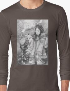 Sedna - the Inuit Sea Goddess Long Sleeve T-Shirt