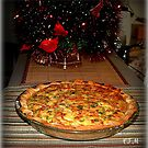 HOLIDAY  BREAKFAST QUICHE by Claire Moreau
