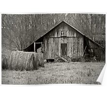 Rural Virginia Barn Poster