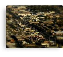 And In The Middle Runs A Road ~ Part One Canvas Print
