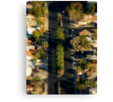 And In The Middle Runs A Road ~ Part Two Canvas Print