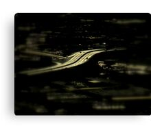 And In The Middle Runs A Road ~ Part Three Canvas Print