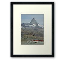 The Matterhorn from Gornergrat Framed Print