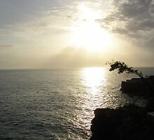 Jamaican Sunset by David Carr