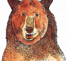 Brown Bear by ShakeyIllustra