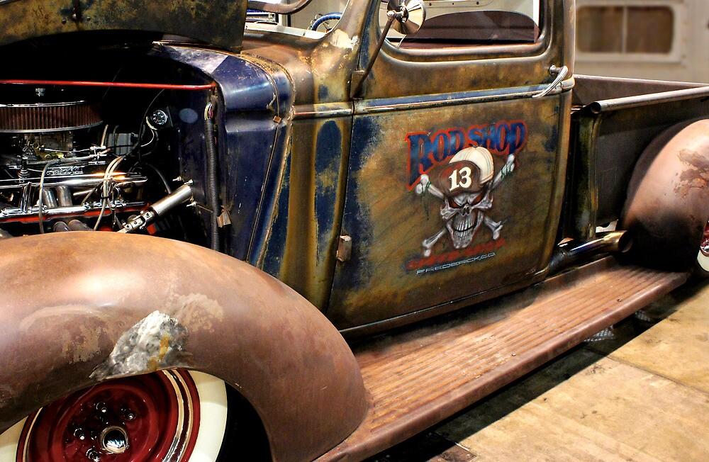 Rod Shop Pickup by Daniel Sawyer