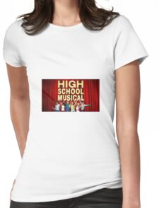 High School Musical  Womens Fitted T-Shirt