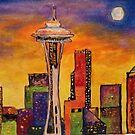 Seattle Nightlife by Jennifer Ingram