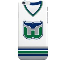 Hartford Whalers 1992-97 Home Jersey iPhone Case/Skin