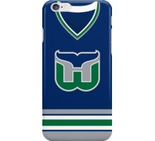 Hartford Whalers 1992-97 Away Jersey iPhone Case/Skin