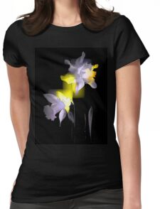 Cubist Daffodils Womens Fitted T-Shirt