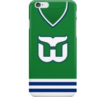 Hartford Whalers 1985-92 Away Jersey iPhone Case/Skin