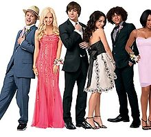 HSM CAST by alimaric