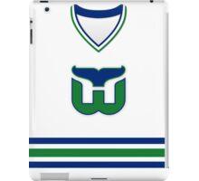Hartford Whalers 1985-92 Home Jersey iPad Case/Skin