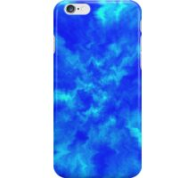 Intense Blue Ripples iPhone Case/Skin