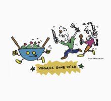 Vegans Gone Wild !!! COLOR design by Ollie Brock