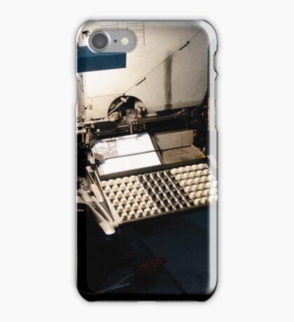 Linotipia iPhone Case/Skin