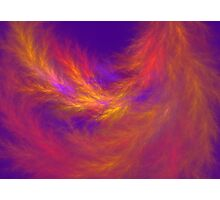 Fiery Leaves Photographic Print