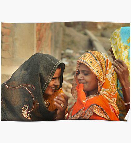 Laughing women Poster