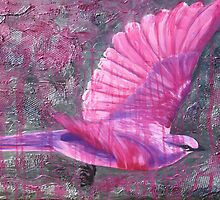 Pink Bird by Magenta Wise