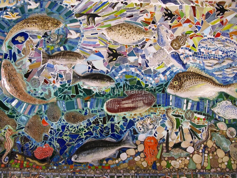 Save Our Soles - Mural by Guy Crosley by Marilyn Harris