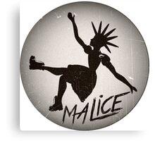 Vintage Malice Logo Canvas Print