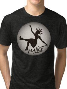 Vintage Malice Logo Tri-blend T-Shirt