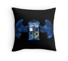 Superwholock Space v2 Throw Pillow