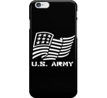 U.S. ARMY MILITARY AMERICAN FLAG SOLDIER iPhone Case/Skin