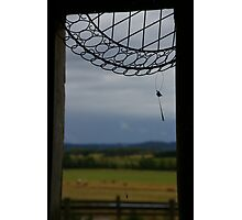 What Do You REALLY See When You Look Through This Window? Photographic Print
